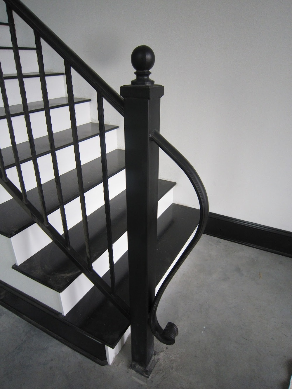 For a more designer friendly option, look to a fabricator for a custom option | Via The Henn Haus