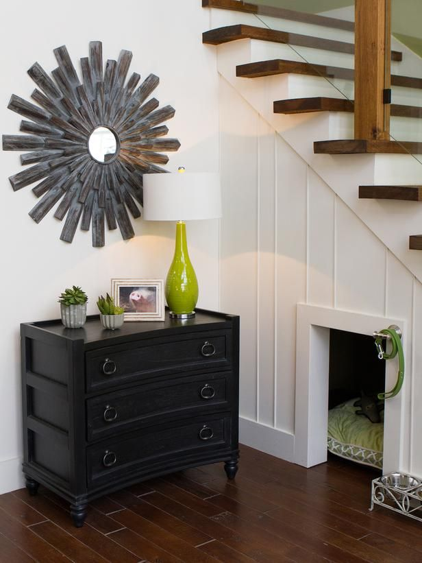 Understair pet bed by designer Chip Wades | Photo by Jessica McGowan, courtesy HGTV