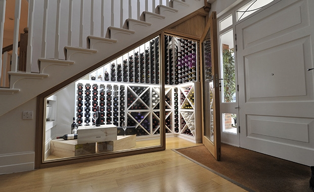 Surrey Redwood Wine Cellar by Carlo Garn Premium Wine Storage | Photo courtesy Carlo Garn