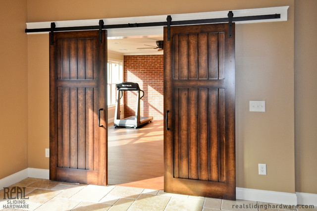 Universal Design The Sliding Barn Door AgingInPlace Corinne Gail Amazing Interior Barn Doors For Homes