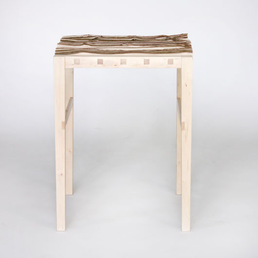 SEBASTIAN COX FURNITURE - 'KERF' STOOL-SIDE TABLE (STOOL).jpg
