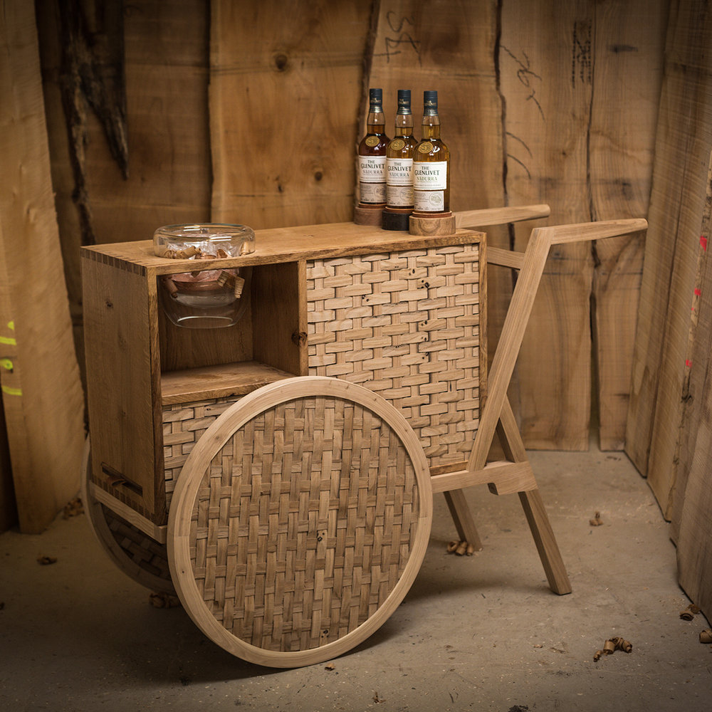 The Glenlivet Nàdurra Drinks Trolley