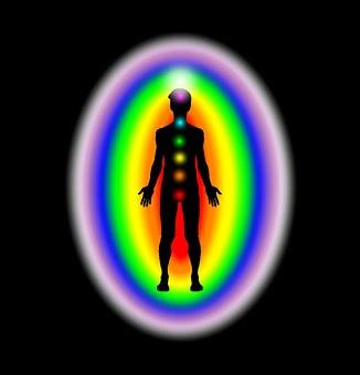 """Din aura og chakraer - Dine chakraer er dine energetiske """"vinduer"""", hvorigennem du sanser den energetiske verden omkring dig"""