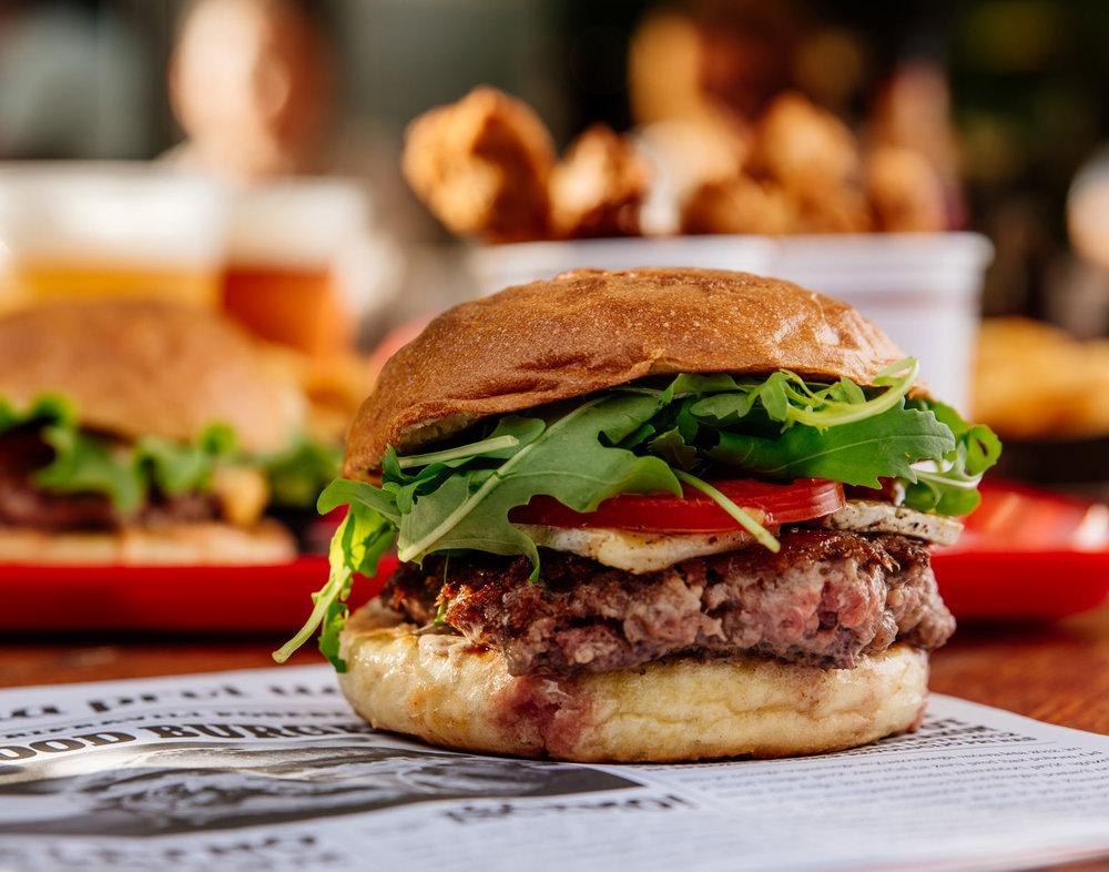 Le Brie Burger