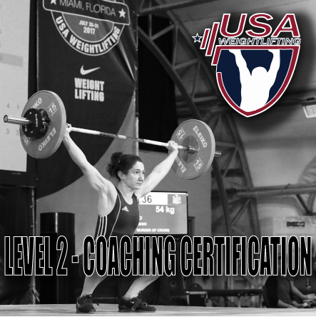Usa Weightlifting Level 2 Certification Murder Of Crows Barbell