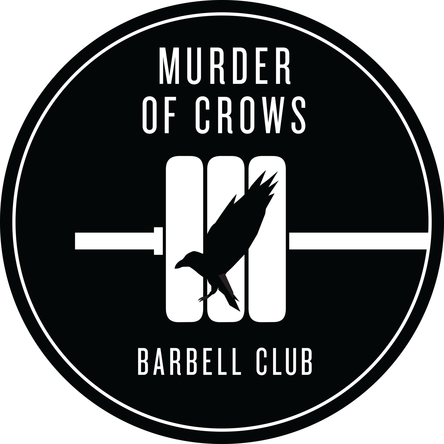 Murder of Crows Barbell