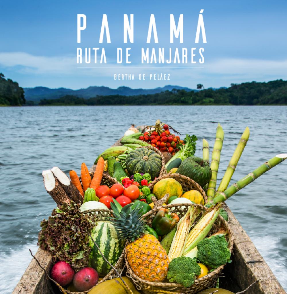 """Book cover for """"Ruta de Manjares"""""""