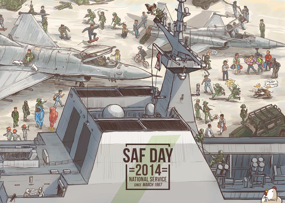 SAF Day 2014