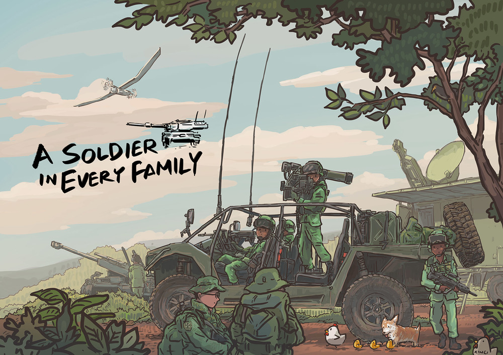 """A Soldier in Every Family"""