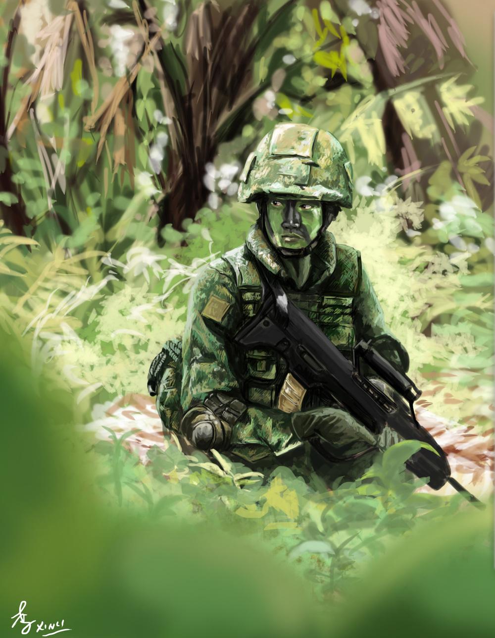 HEY SOLDIER!