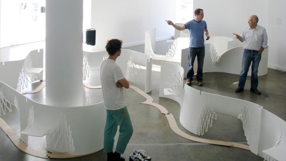 Vito Acconci, Bronx Museum
