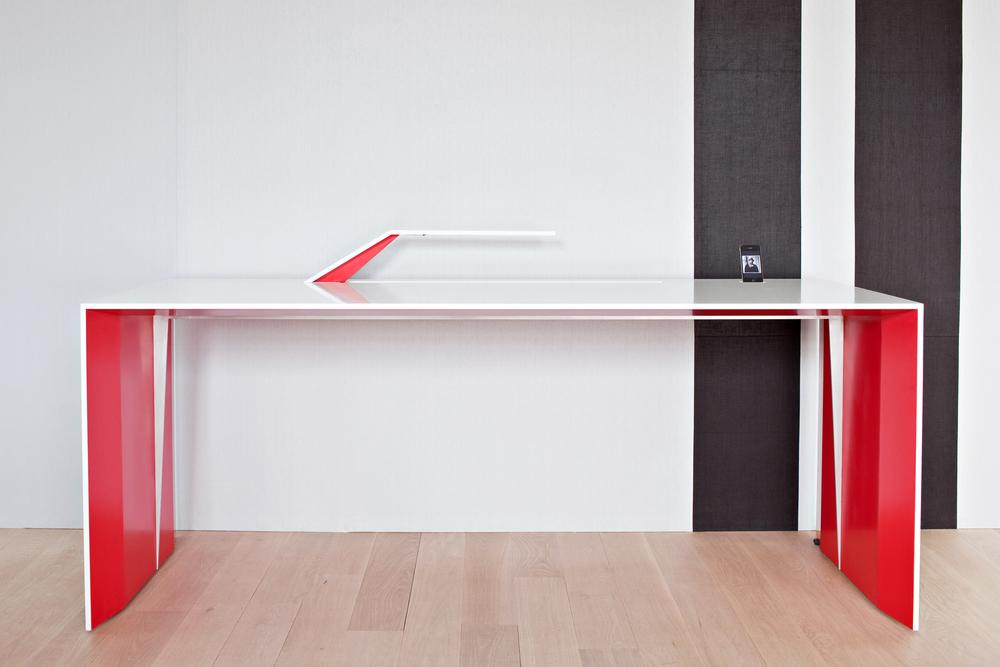 Carol Egan Corian Desk