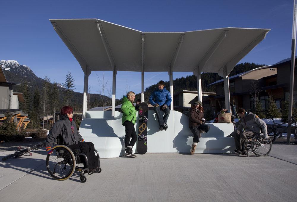 2010 Olympics Bus Shelter