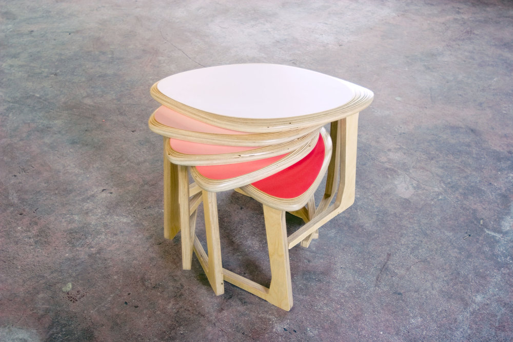 Petal Stacking Stools