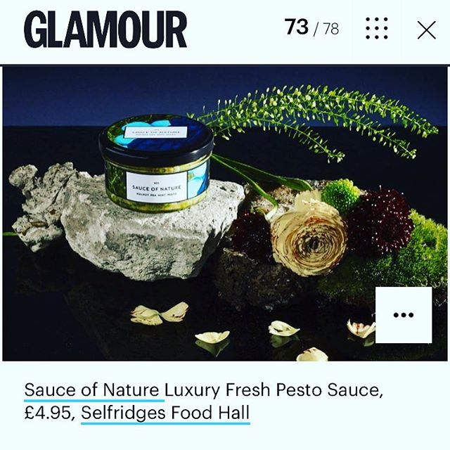 Unsure of what to get the man in your life for #fathersday ? #glamourmagazine have an excellent list of gifts by some of the best brands around... 😎#sauceofnature #glamourmagazine #fathersday #availableatselfridges