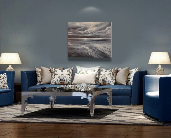 Here is a sample image in a living room.