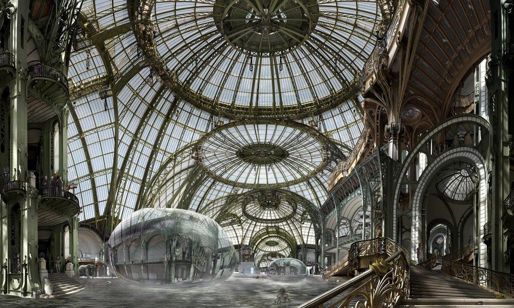 Voyages extraordinaires  , 2009, 180 x 300 cm