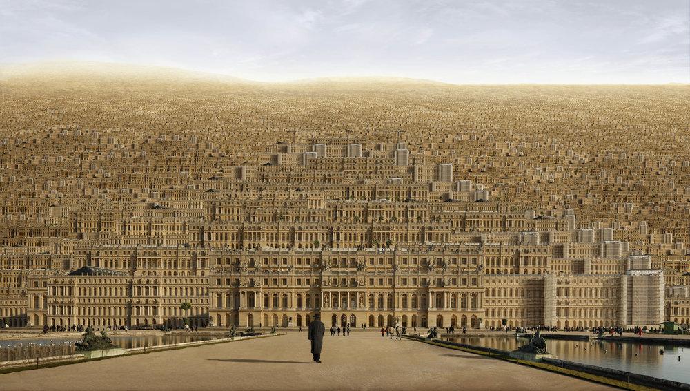 Versailles , 2009, 180 x 300 cm