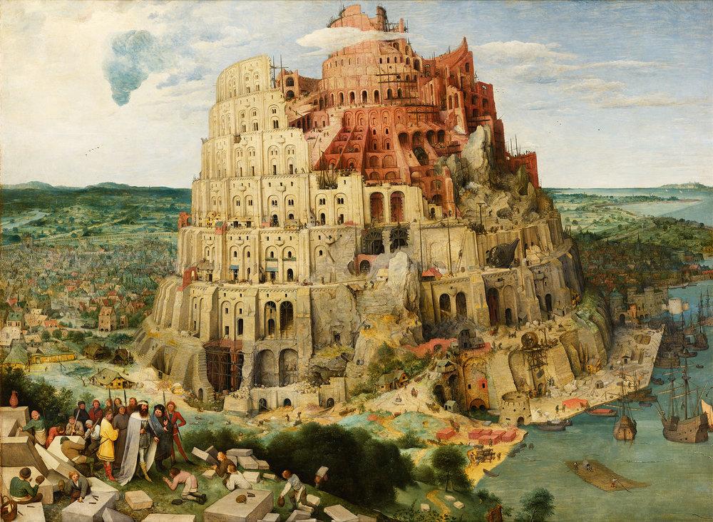 Pieter Bruegel l'Ancien -La Tour de Babel, Vienne.