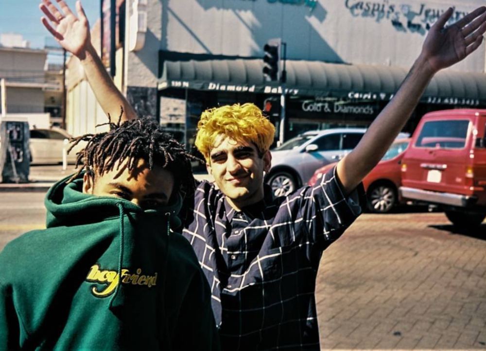 Kevin Abstract and Romil Hemnani of BROCKHAMPTON