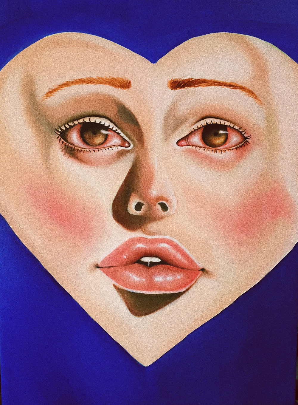 Lover in Blue - Kaitlyn Wallace 2018 | Oil Painting