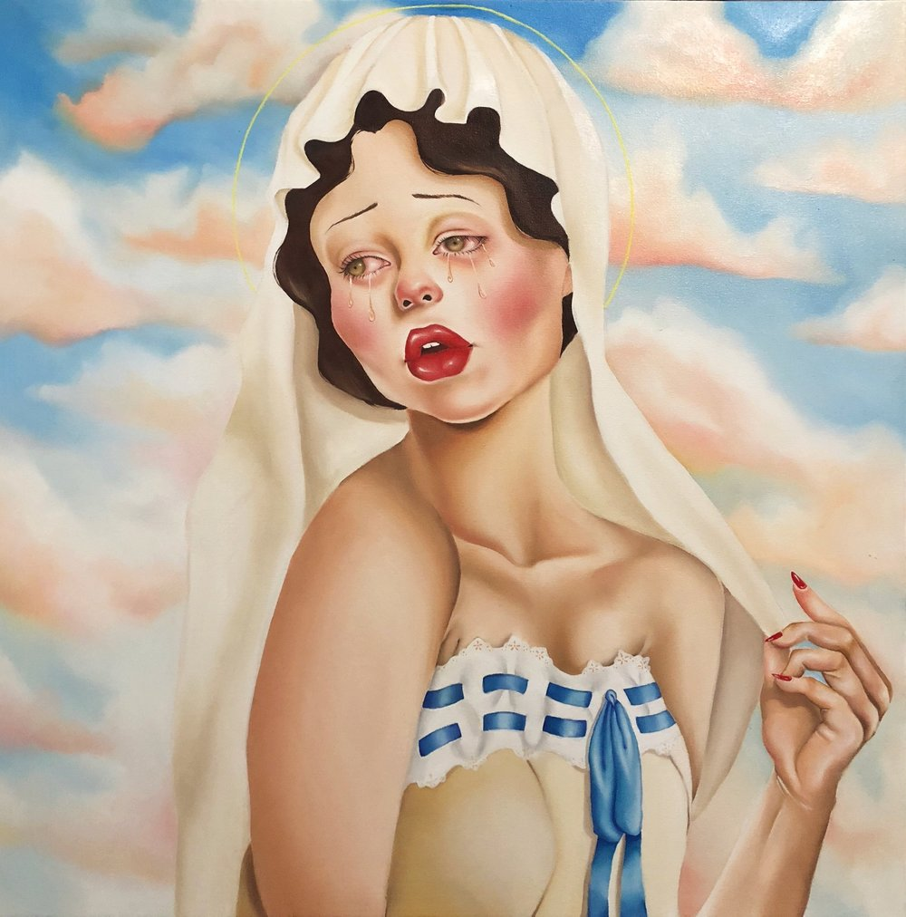 Virgin Tears - Kaitlyn Wallace 2018 | Oil Painting