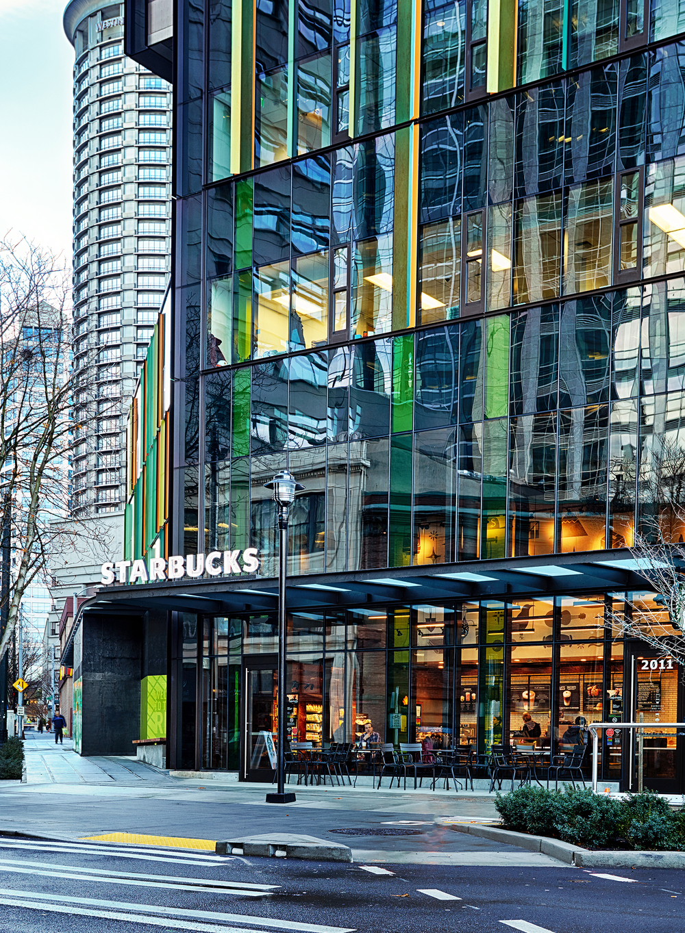 Starbucks - Amazon Building, Seattle, WA