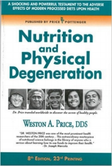 Nutrition and Physical Degeneration  by  Weston A. Price   A classic nutrition research text with photographs and evaluations from multiple cultures around the world. Solid comparisons of diet and physical effects observed in the 1930s.
