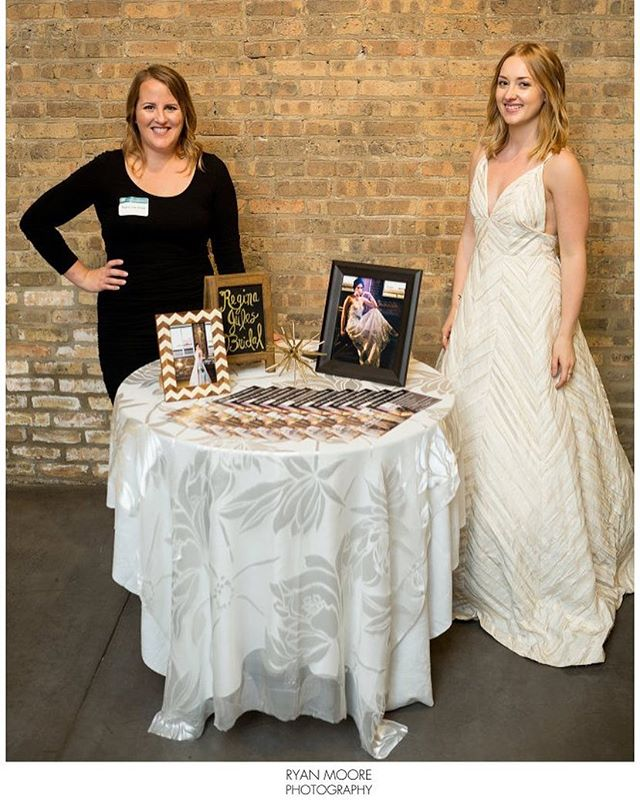 Throwback to a great bridal show! Special thanks to @ryanmoorephotography for getting the only photo of the whole setup from @wedtoberfest - he is one talented photographer! Be sure to check him out and follow! . . #wedtoberfest #wedtoberfest2016 #weddingdressdesigner #bridalshow #fashiondesigner #weddingdress #customweddingdress