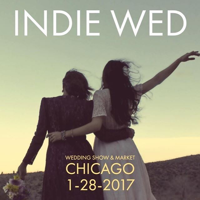 There is still time to get tickets for tomorrow's @indiewed - come see RJB and all of Chicago's great wedding vendors! #weddingshow #indiewed #bridalshow #bridaldesigner