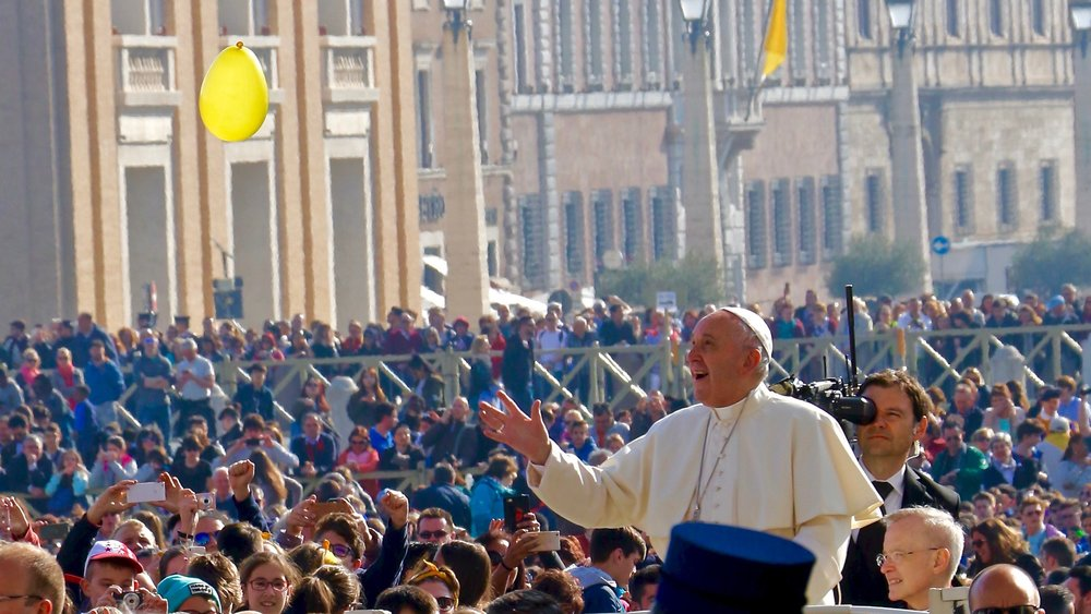 PAPAL AUDIENCE ON MARCH 29, 2017