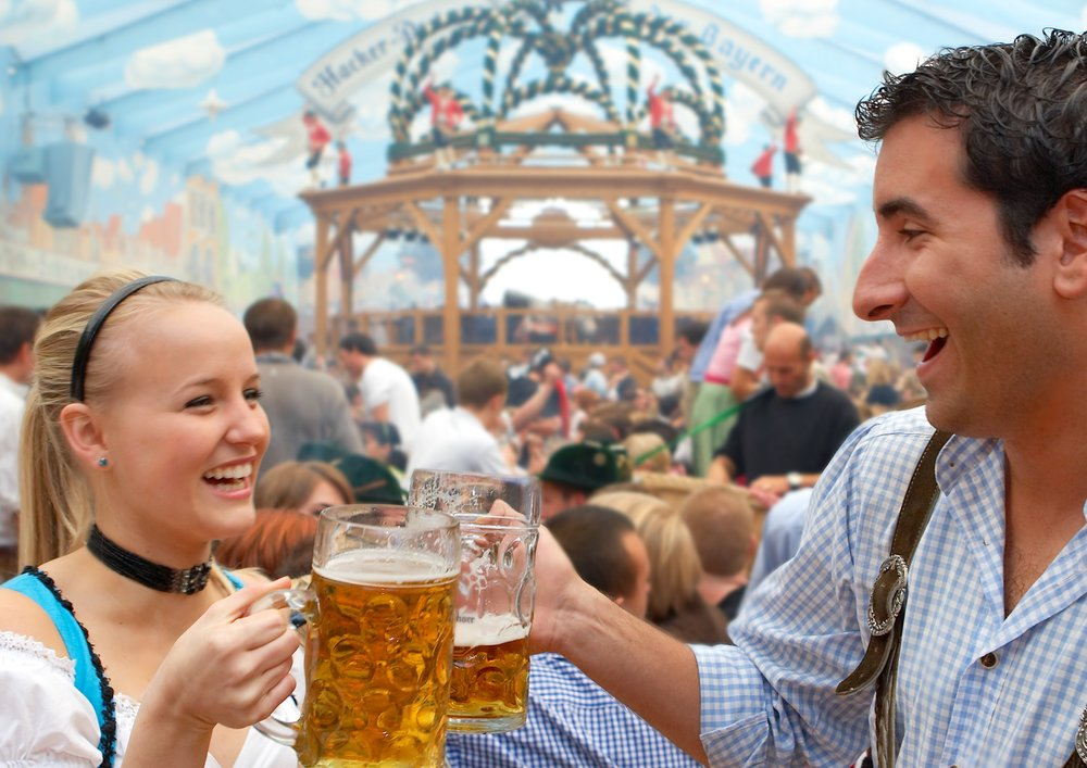 iN MUNICH: Cheers from Oktoberfest