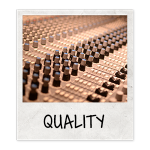 The quality should not alter the listening experience. A full mix and master isn't required but a clean mix is needed to ensure that the quality is at a good point. Many of our artist record their songs with home studio set ups.