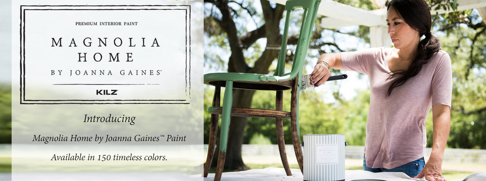 Magnolia Home paint by Joanna Gaines