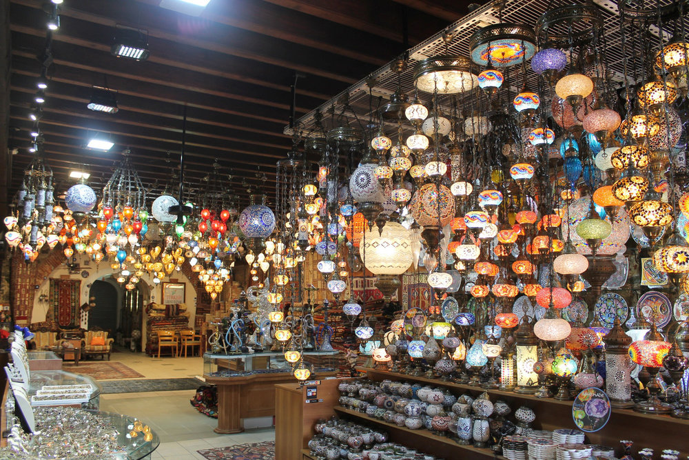 Turkish Grand Bazaar - Offering the finest Turkish hand made carpets, Turkish hand-blown glass mosaic light fixtures, hand painted ceramics and tiles and Ottoman empire inspired jewelry.340-714-5779 | www.turkishgrandbazaarvi.com