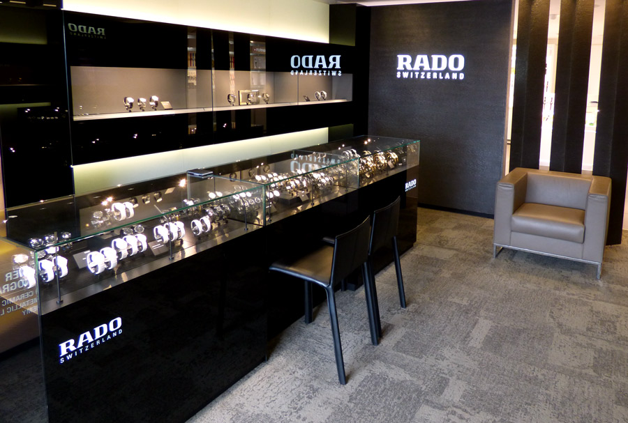 Rado Boutique - From day one Rado has continually introduced the unexpected to Swiss watchmaking. Style and substance are the key to the future as Rado continues to create eye-catching watches that will stand the test of time.340-774-5699