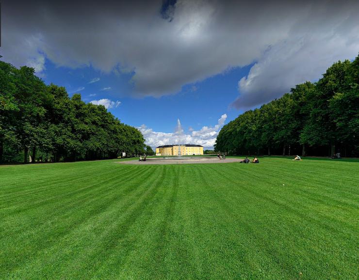 Sankt Thomas Park in Denmark