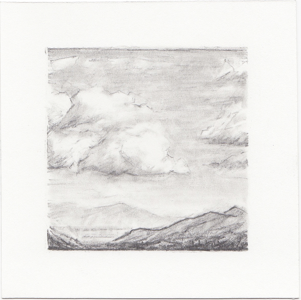 #39 Salt Lake Valley, Utah | 3x3 | graphite