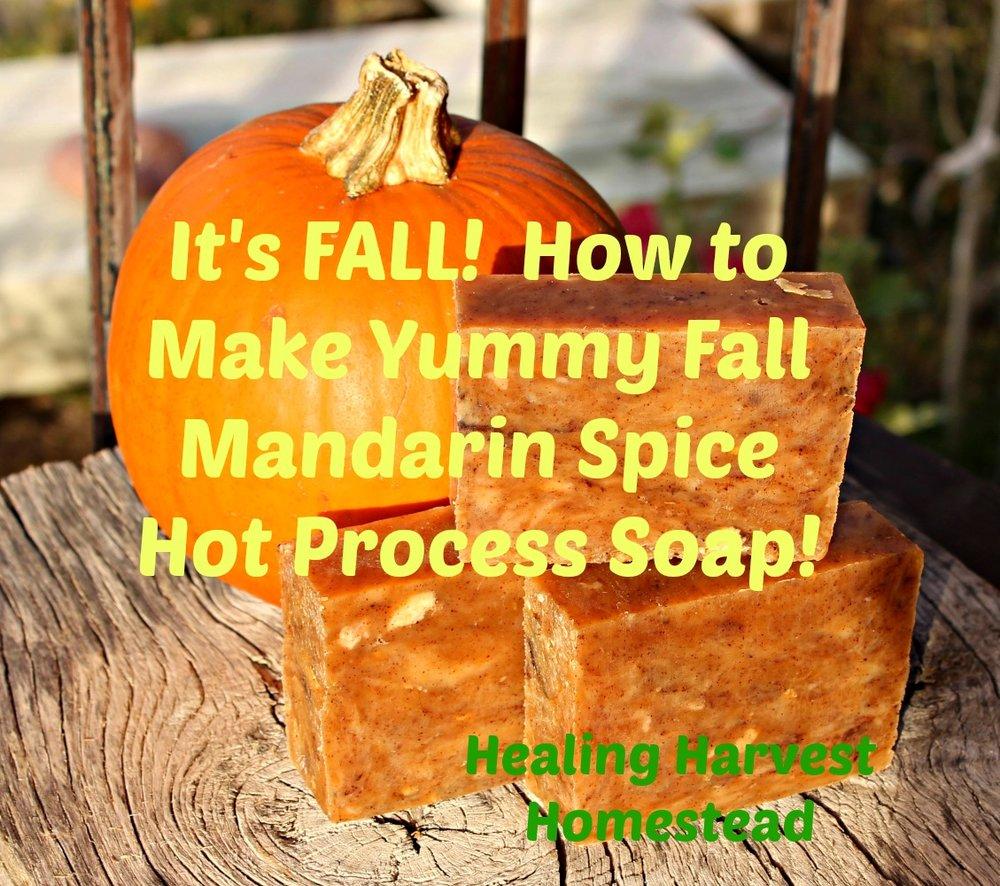 Enjoy your beautiful Fall soap!!!