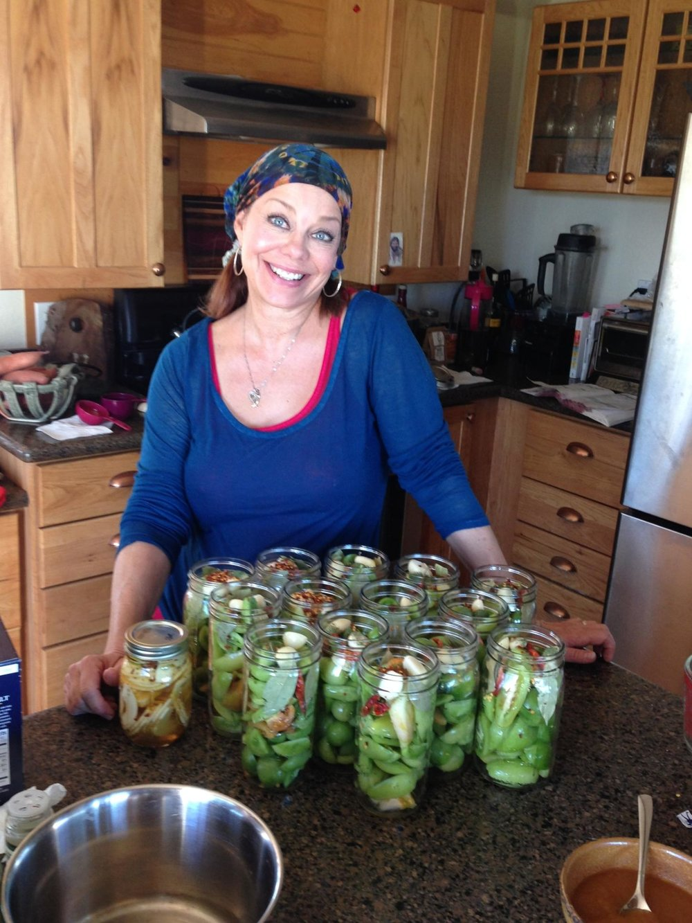 Hi.  I'm Heidi.  I am a mid-life homesteader/teacher-turned-blogger!  We live off-grid on less than an acre with lots of animals...  READ MORE....