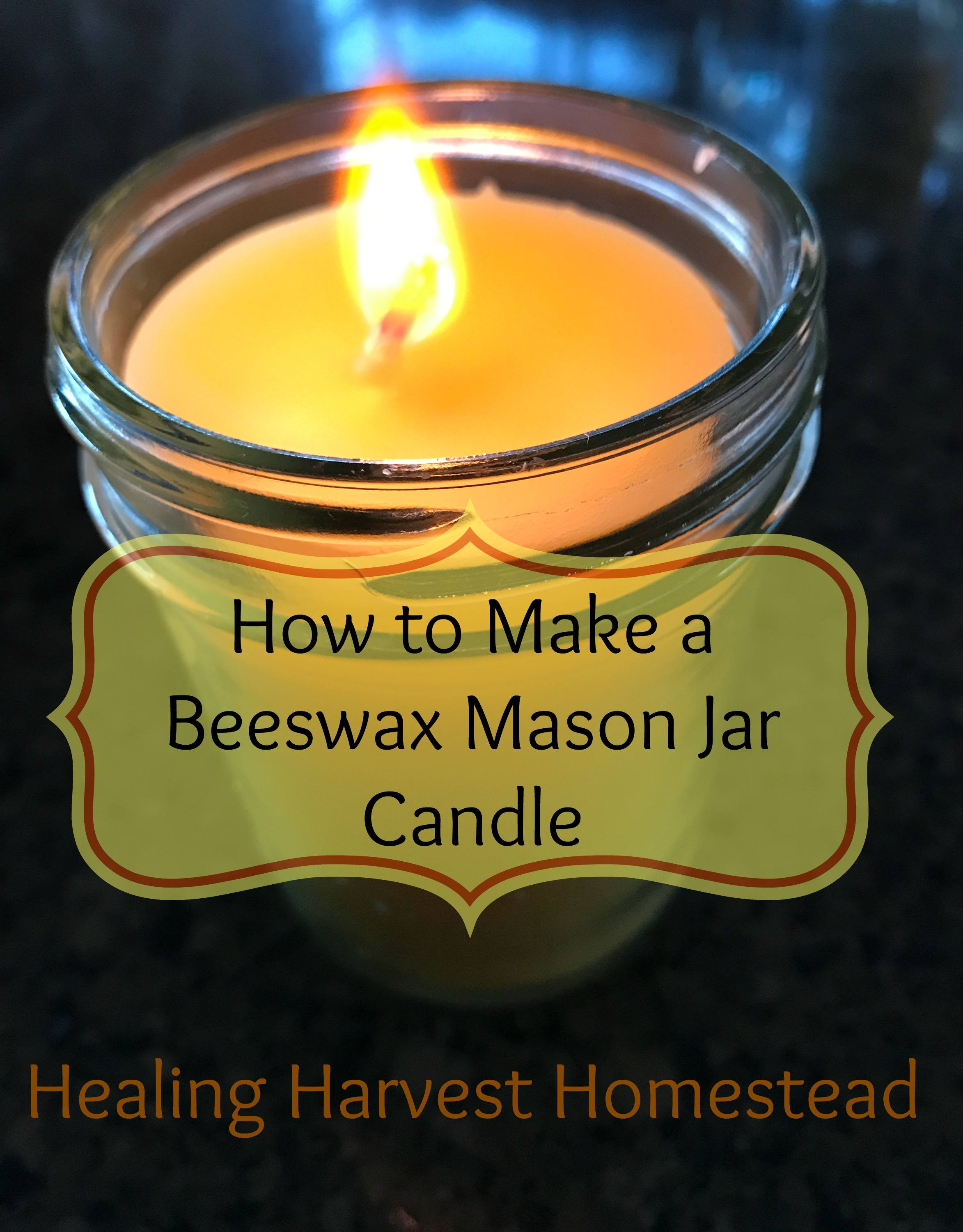 how to make tallow candles at home
