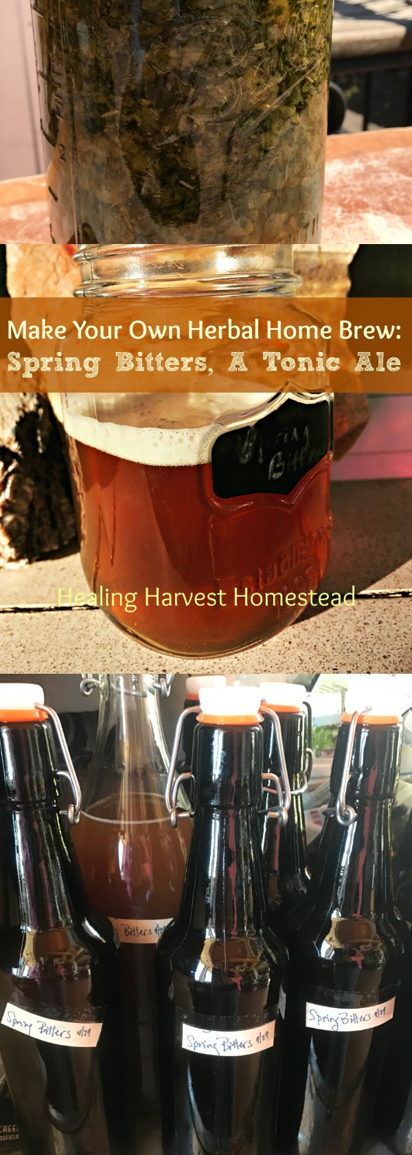 Herbal beer (ale) is a wonderfully creative process. If you love tasting brews, you should give making your own herbal ales a try! It's easy, very inexpensive, and you'll always have healthy herbal brew on hand!