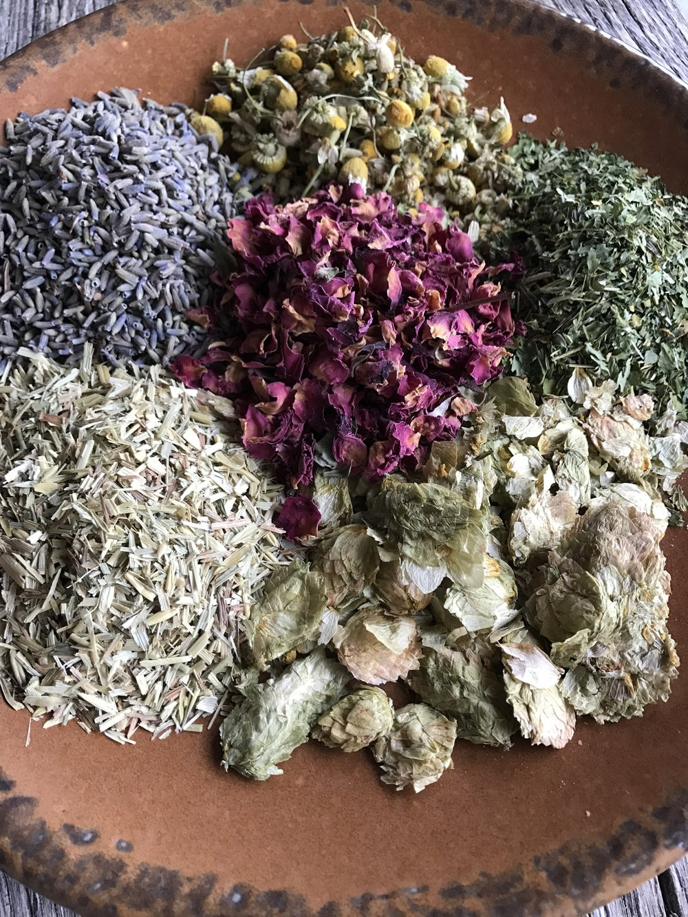 You'll learn how to use herbs to naturally color your soaps and give them extra healthy properties for your skin!