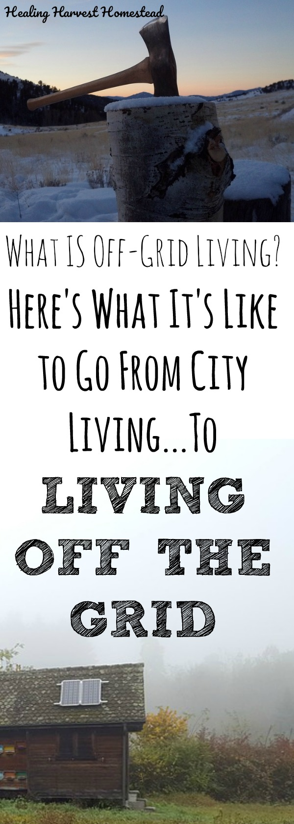 "What is it REALLY like to live off grid? And what, actually does living ""off-grid"" mean? Find out about the challenges and joys of moving from city living to being off the grid---- #OffGrid #LivingOffGrid"