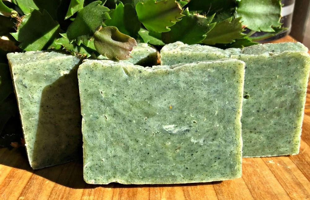 Mmmmm....Delicious! Your man will love this hot process soap recipe!