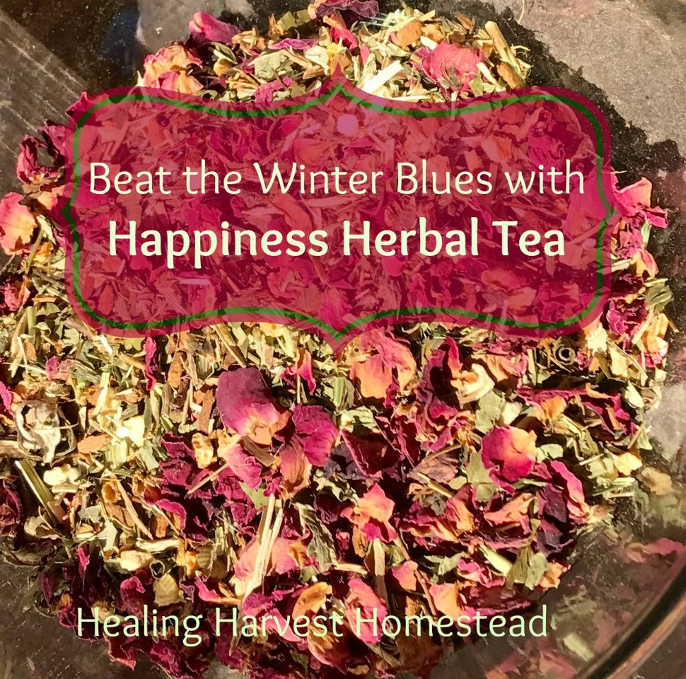 Not only is this tea great for lifting your mood, it's also beautiful! And PERFECT for Valentine's Day!