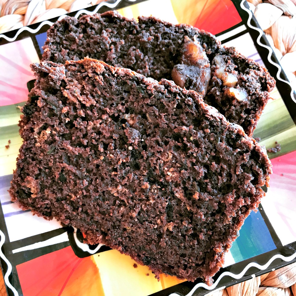 Here's  Chocolate Zucchini Bread  from scratch. You can also see my recipe for  Easy Seeded Bread , plus others on the blog.