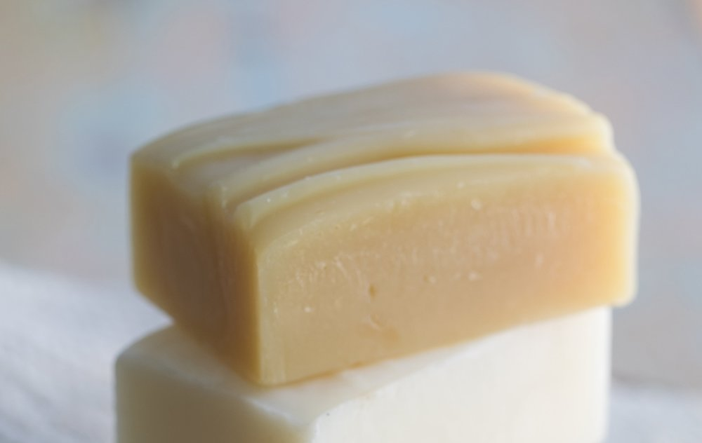 Here is  Goat Milk & Honey soap  made with the cold process method.