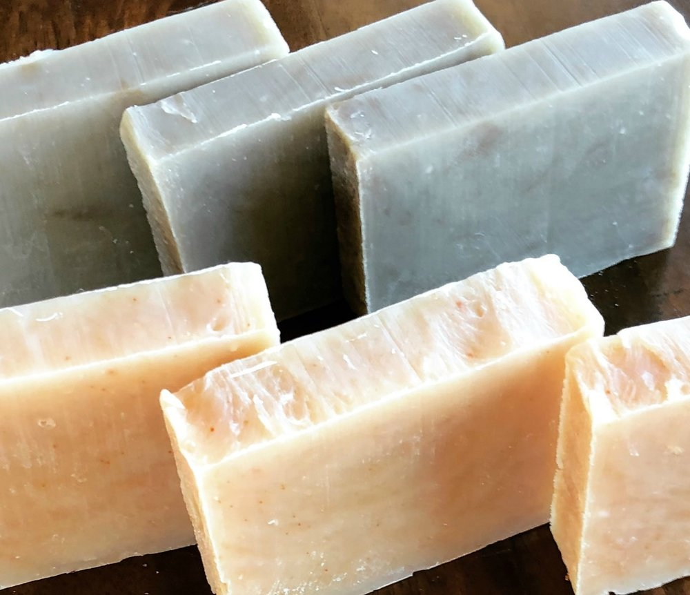 This is a lovely soap you can either customize yourself or leave natural. It's seriously the most moisturizing soap I've created!