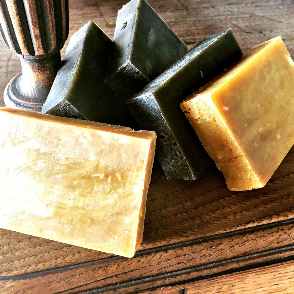 Make your own soap! It's incredibly fun, besides being useful and way more healthy than using store-bought soaps.